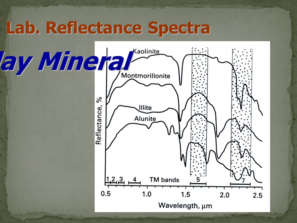 Lab. Reflectance Spectra Clay Mineral