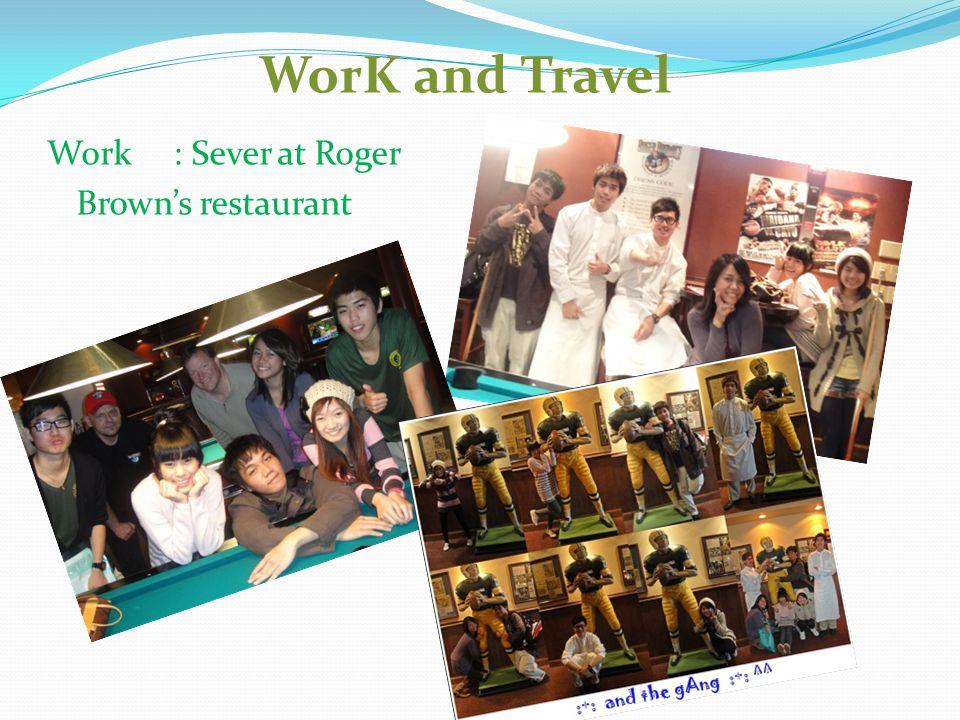 Work Work Work : 2 nd Job at McDonald