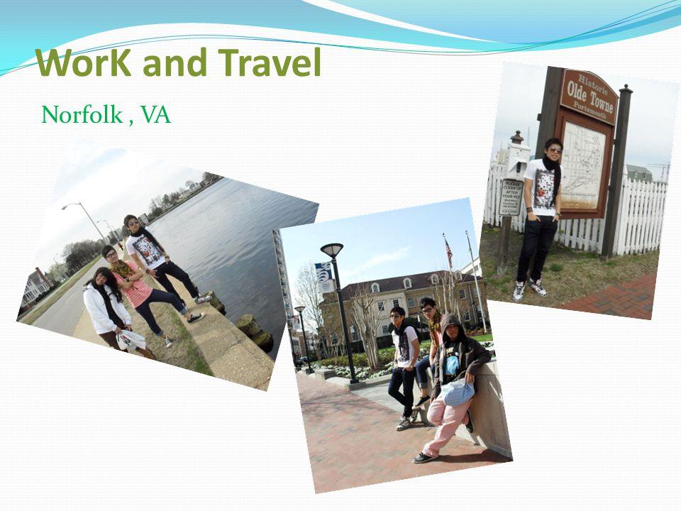 WorK and Travel Busch Garden Willaimsburg,VA