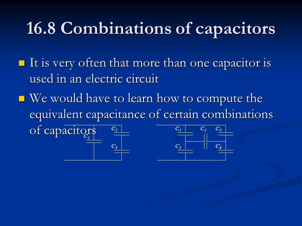 +Q 1 Q1Q1 C1C1 V=V ab a b +Q 2 Q2Q2 C2C2 a.