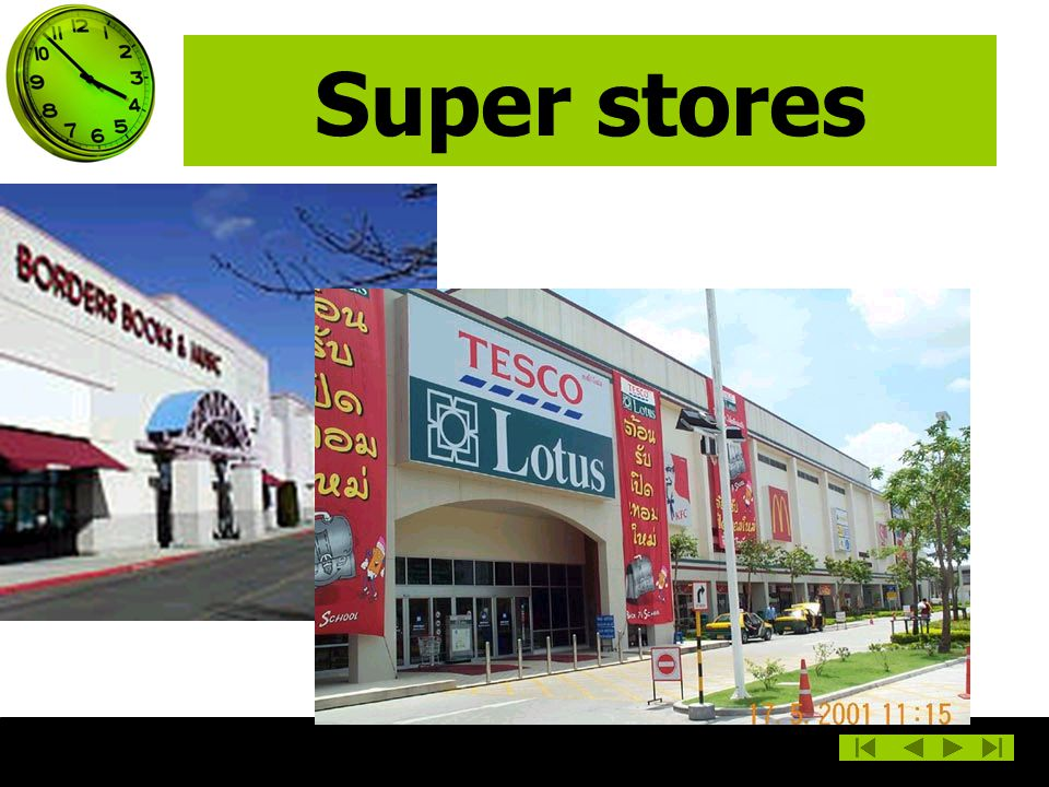Super stores