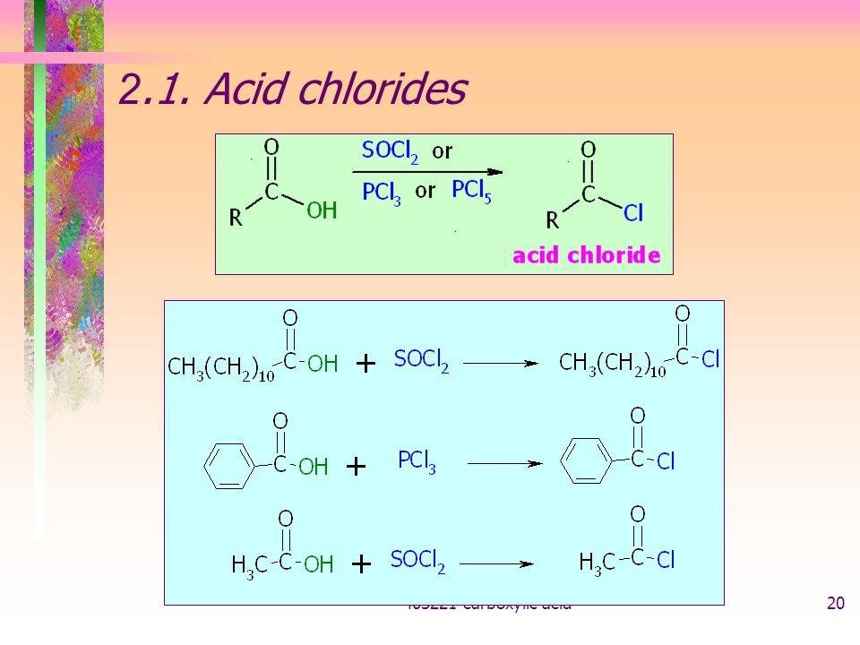403221-carboxylic acid20 2.1. Acid chlorides