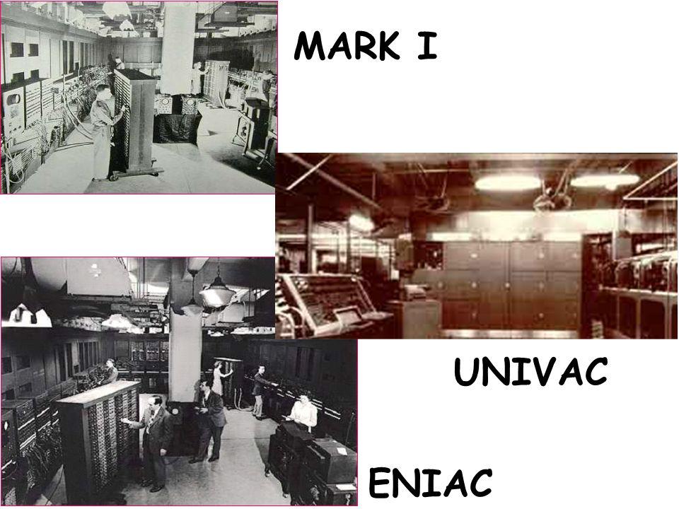 ENIAC MARK I ENIAC UNIVAC