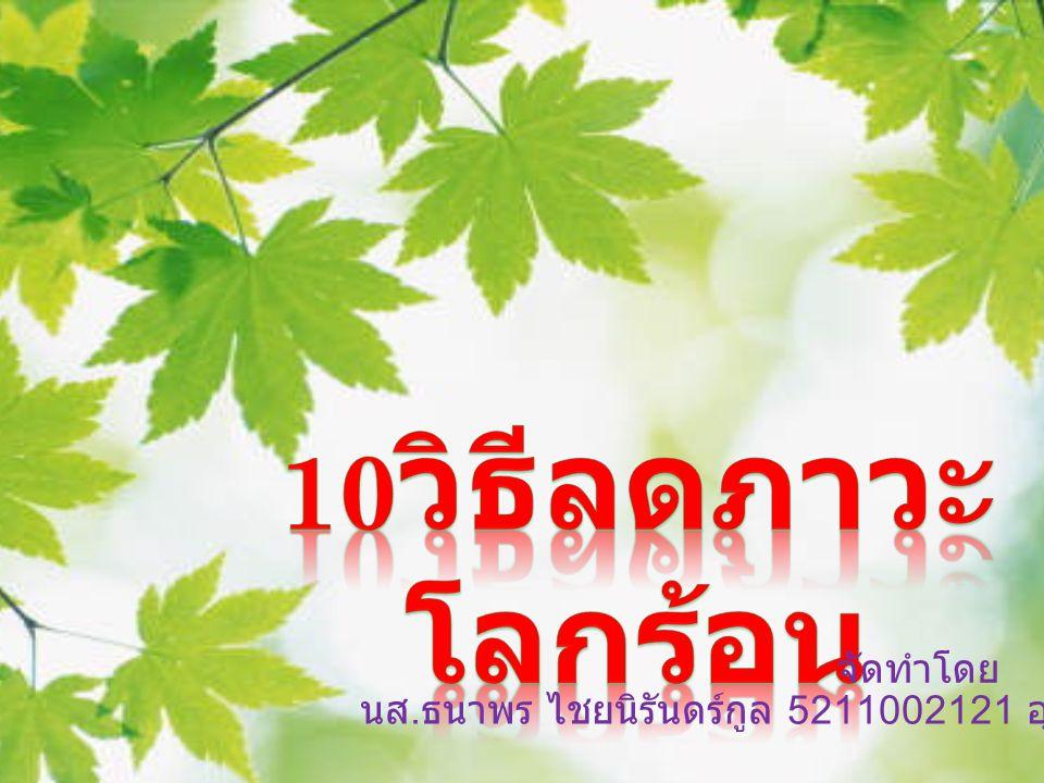 นส. ธนาพร ไชยนิรันดร์กูล 5211002121 อุตสาหกรรมเกษตร /2 จัดทำโดย