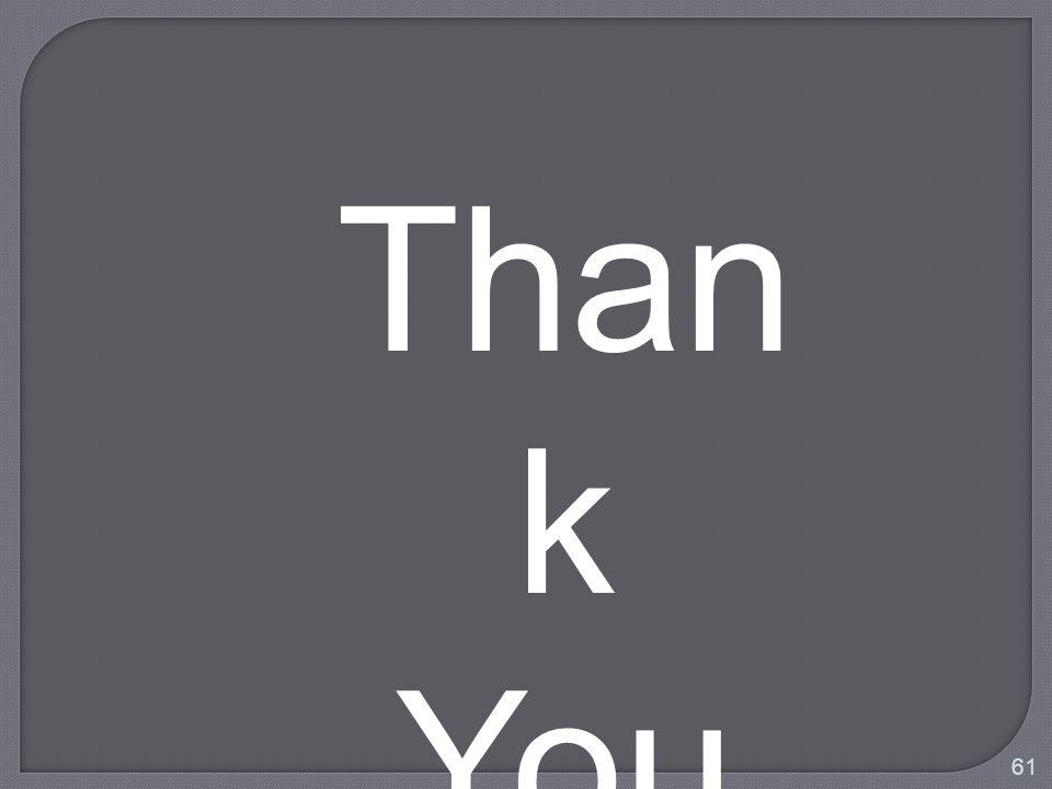 Than k You 61