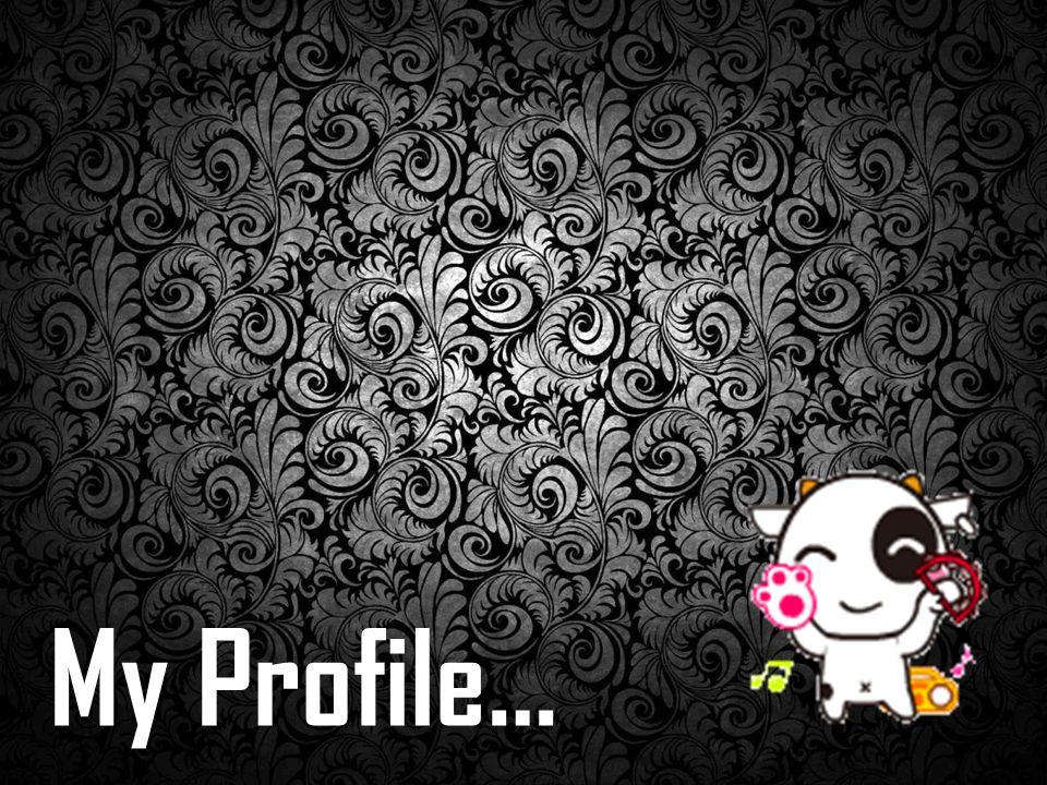 My Profile…