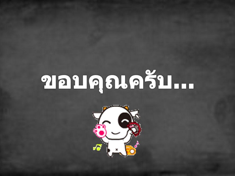 ติดต่อได้ที่... Tel. 080-8016-232 E-mail : khemklad_non@hotmail.com Facebook : Chanom_An