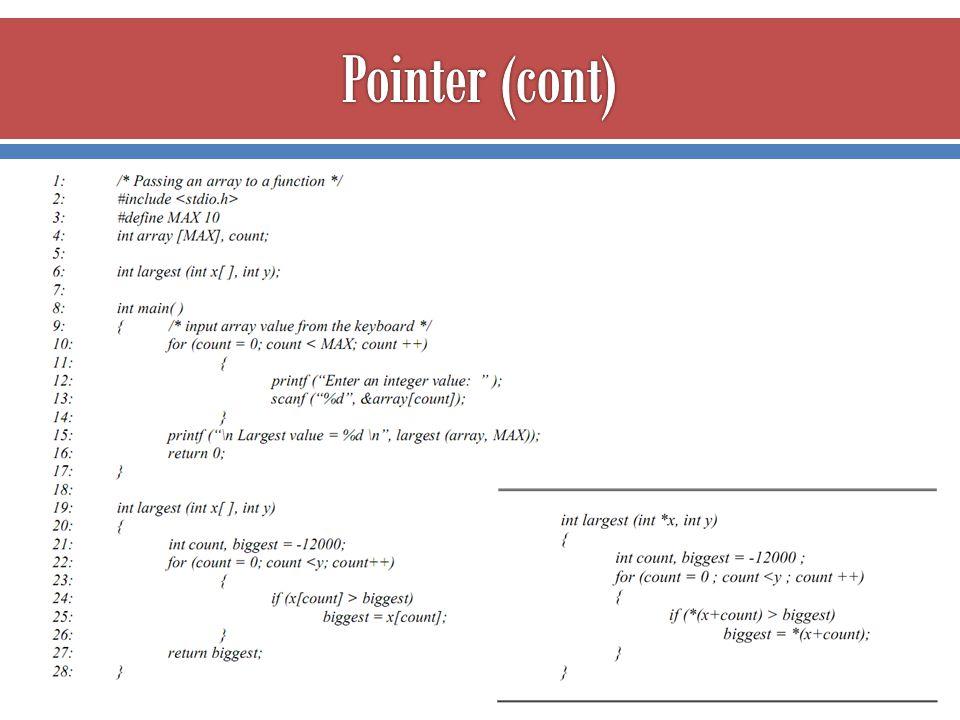  ภาษา C++ นอกจากมีตัวแปรชนิด pointer เพื่ออ้างอิงค่าโดน อ้อมแล้ว ยังมีการกำหนดตัวแปรชนิดใหม่ขึ้นใช้งานเรียกว่า ตัว แปรชนิดอ้างอิง (reference variable) ที่มีการทำงานคล้าย pointer