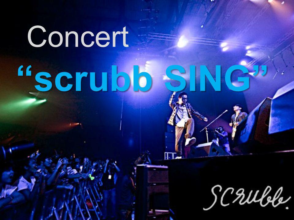Concert scrubb SING