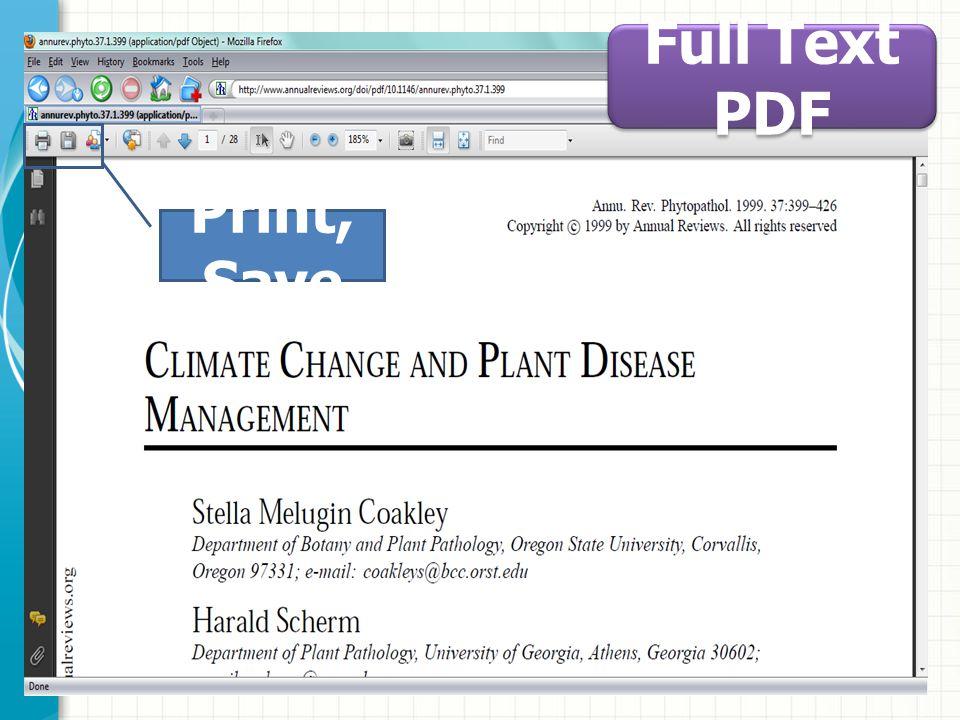 Full Text PDF Print, Save