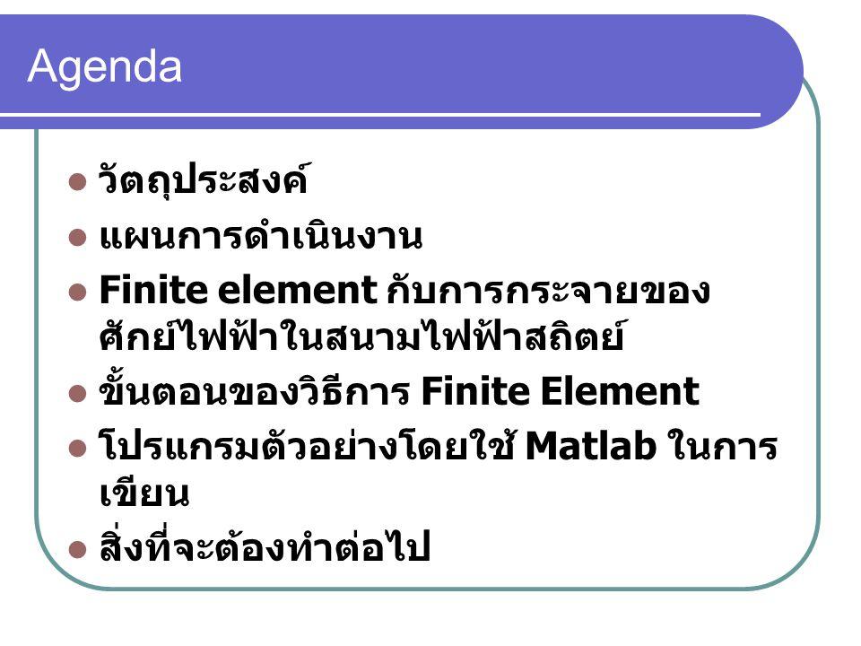 ขั้นตอนของวิธีการ Finite Element( ต่อ ) ระบบ index ของลำดับโหนดจะมี 2 ระบบ 1.
