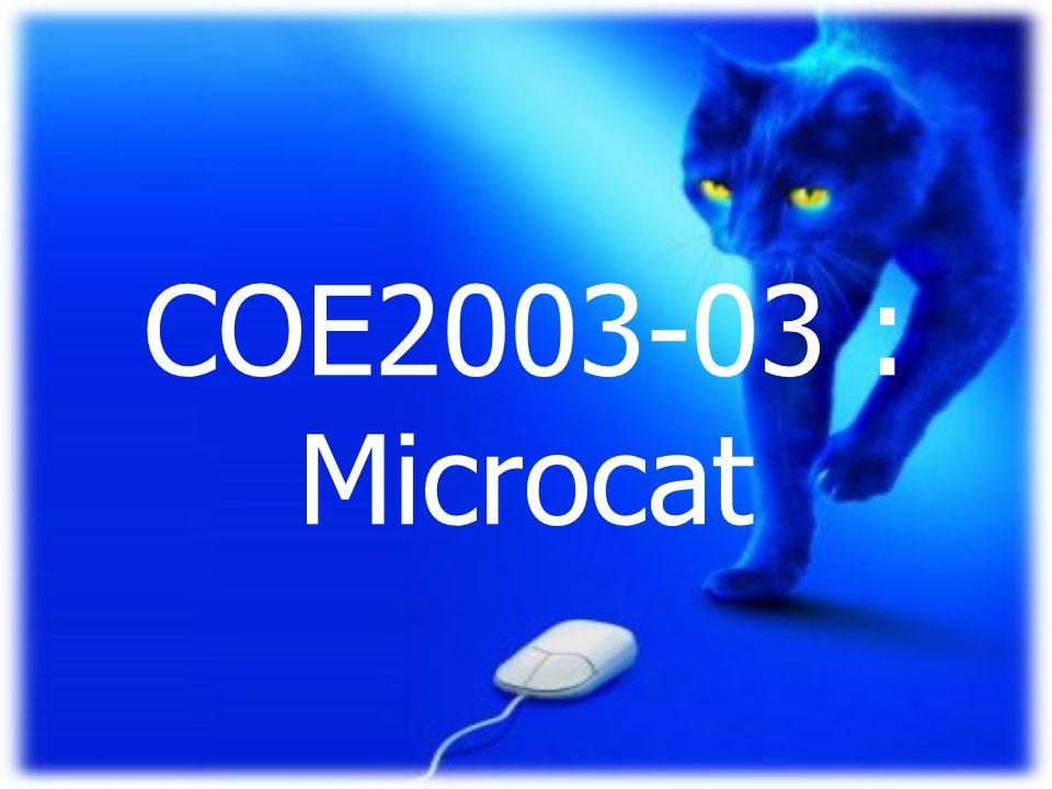 COE2003-03 : Microcat