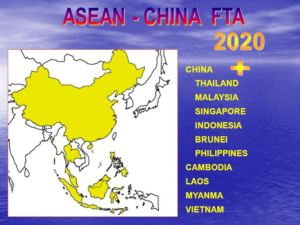 CHINA THAILAND MALAYSIA SINGAPORE INDONESIA BRUNEI PHILIPPINES CAMBODIA LAOS MYANMA VIETNAM
