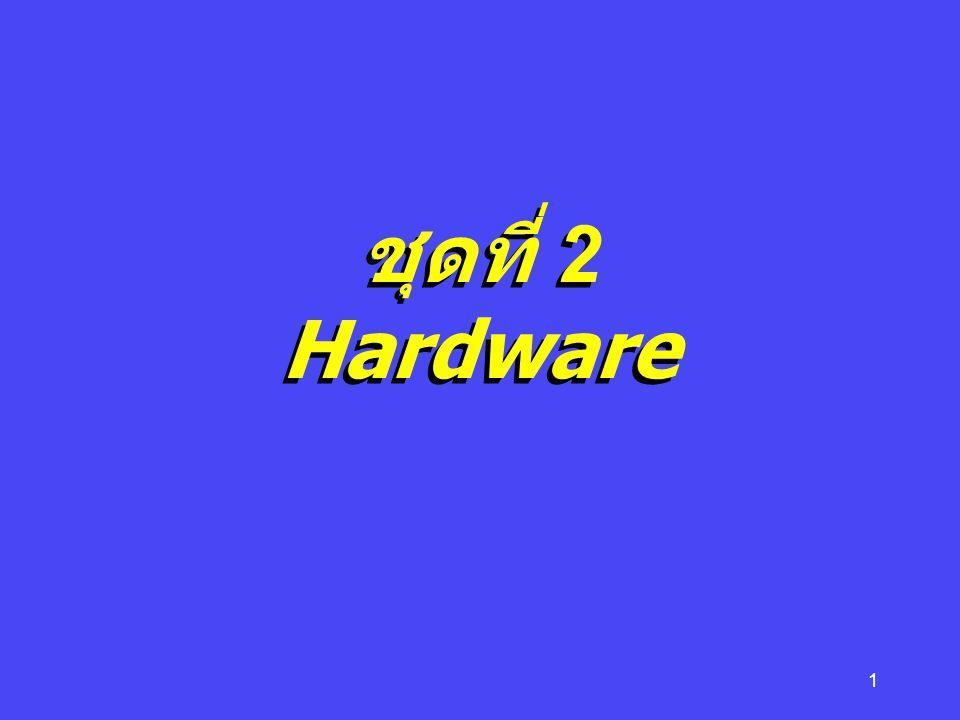 2 องค์ประกอบของ ระบบ คอมพิวเตอร์  Hardware  Software  Peopleware