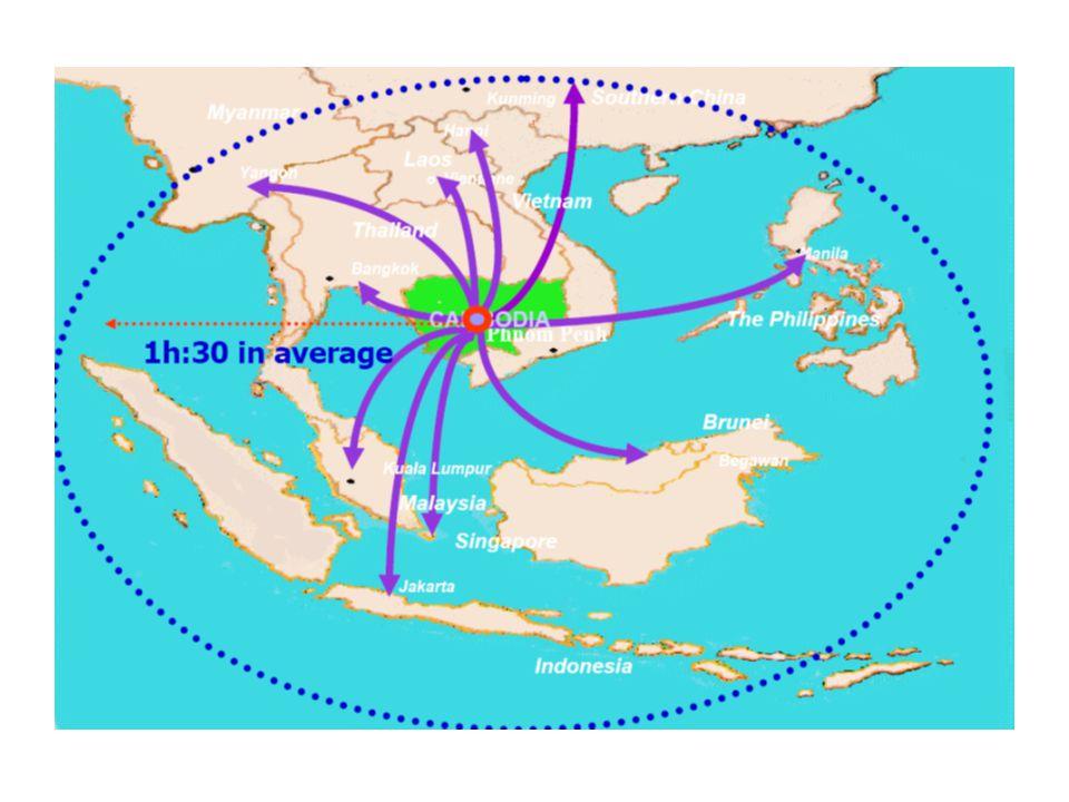 แผนที่ประเทศ กัมพูชา