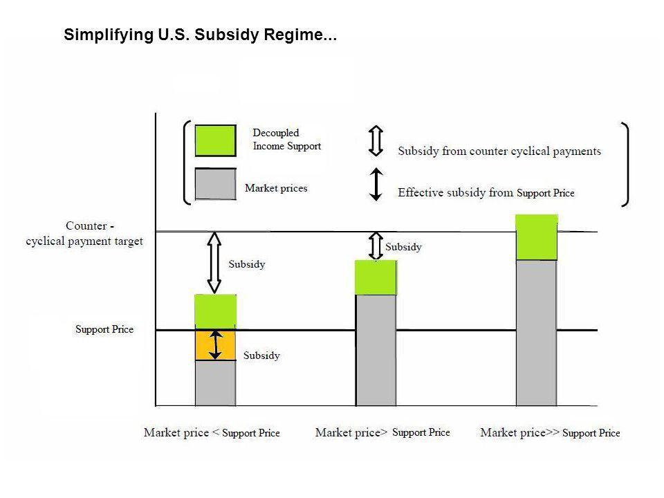 Simplifying U.S. Subsidy Regime...