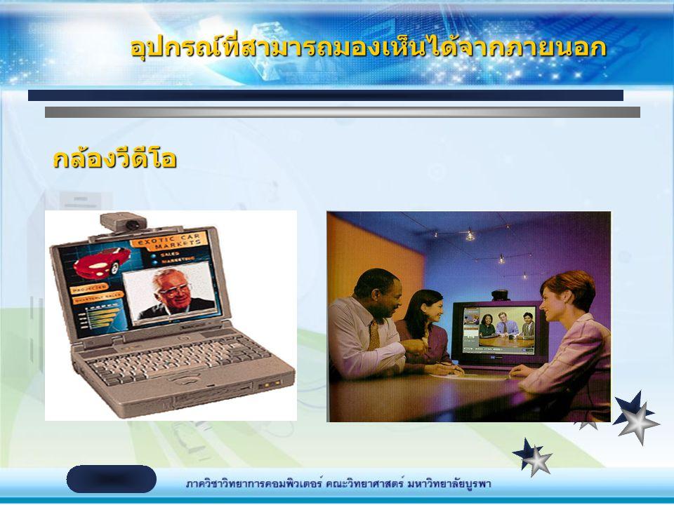รับภาพจาก PC video camera เข้าสู่เครื่อง คอมพิวเตอร์ มักใช้สำหรับ Video Conferencing PC video camera จะเปลี่ยนสัญญาณภาพที่ได้ให้อยู่ ในรูปของ Pixel (จ