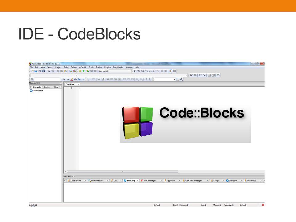 IDE - CodeBlocks