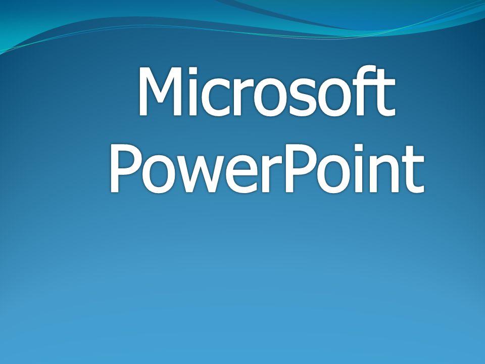 ส่วนประกอบของโปรแกรม Microsoft PowerPoint
