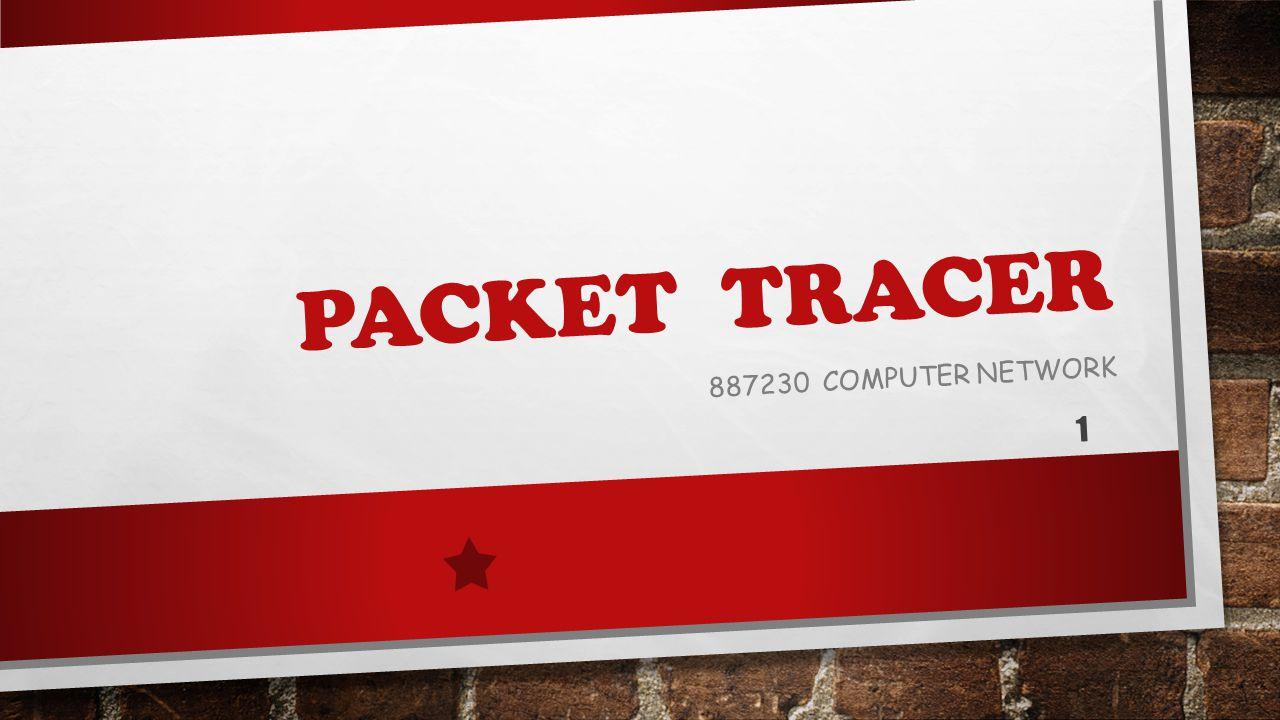 PACKET TRACER คืออะไร โปรแกรม PACKET TRACER เป็นโปรแกรมจำลองเครือข่ายที่ผู้ใช้สามารถสร้าง เครือข่ายขึ้นเองได้นั่นคือ สามารถกำหนดได้ว่าเครือข่ายจะมีอุปกรณ์ใดบ้าง เช่น ROUTER, SWITCH, PC, HUB เป็นต้น ซึ่งโปรแกรม PACKET TRACER สามารถ จำลองการทำงานของเราเตอร์และสวิทช์ได้ 2