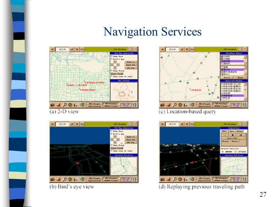 27 Navigation Services