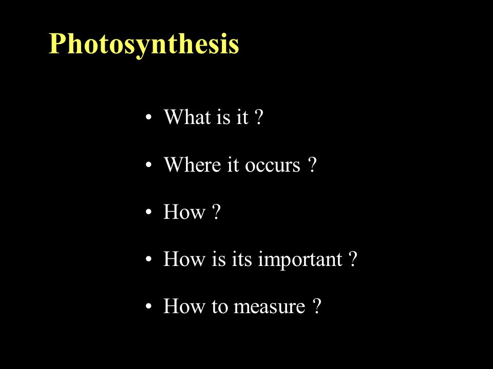 Photosynthesis ประกอบด้วย 3 กระบวนการย่อย CO 2 diffusion A = C g d[CO2] Photochemical process (light reaction) 4H 2 O + 2ADP+2NADP + +2p i O 2 +2H 2 O+2ATP+2NADPH +2H + Biochemical process 3CO 2 +9ATP+6NADPH+6H + triose- P+6NADP+9ADP+8P i +3H 2 O