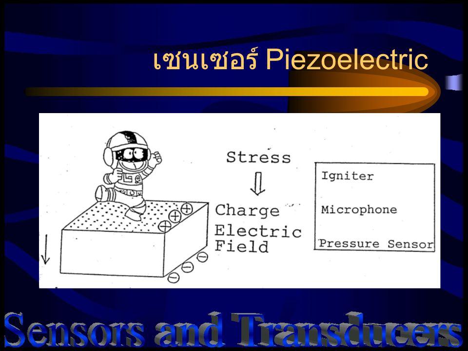 เซนเซอร์ Piezoelectric