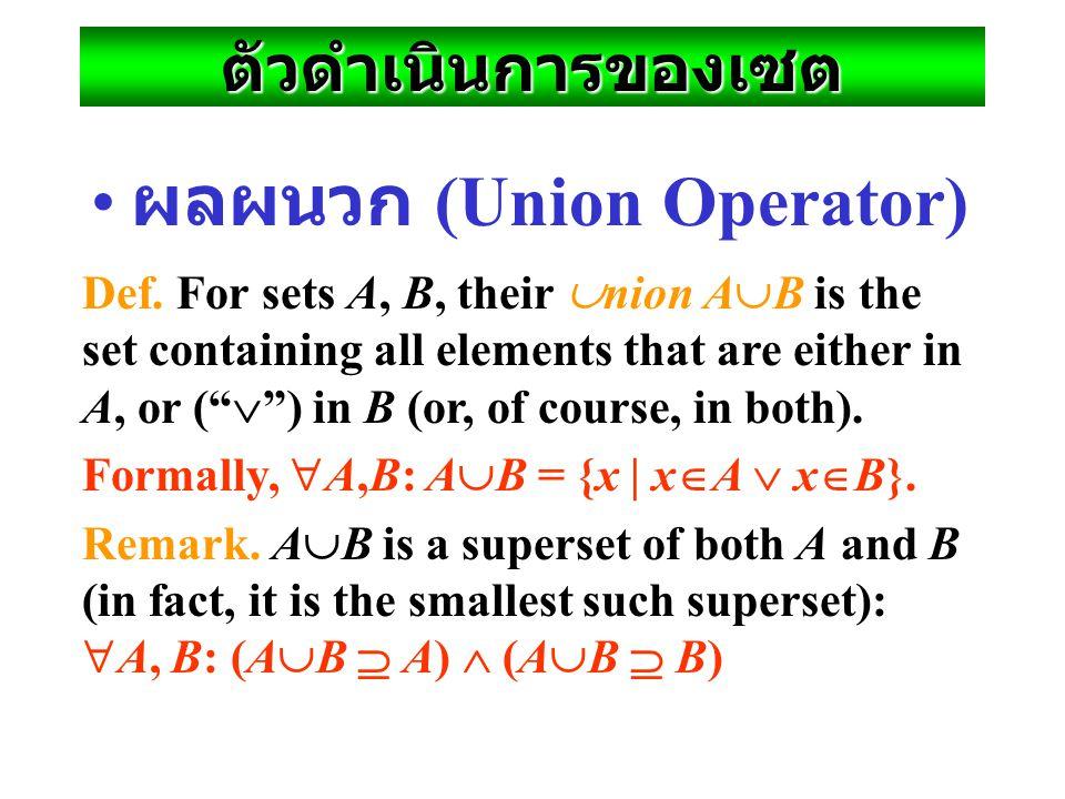 ทบทวนเรื่องความรู้เบื้องต้น ของเซต Variable objects x, y, z; sets S, T, U. Literal set {a, b, c} and set-builder {x|P(x)}.  relational operator, and