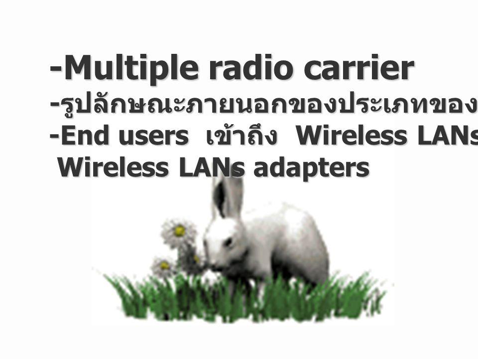 Wireless LAN ทำงานได้โดยใช้คลื่นอากาศในรูปแม่เหล็กไฟฟ้า ในการติดต่อสื่อสารข้อมูลจากที่หนึ่งไปยังที่อีกที่หนึ่ง โดยไม่ ต้องวางใจ การติดต่อทางกายภาพมากนัก คลื่นวิทยุถูกกล่าว เป็นเหมือนตัวนำคลื่นวิทยุ (radio carrier) เพราะพวกมันกระทำ การอย่างง่ายกับ function ของพลังงานในการขนส่งไปยัง ผู้รับ ข้อมูลถูกส่งโดยถูกเขียนทับบน radio carrier ข้อมูลถูกส่งโดยถูกเขียนทับบน radio carrier