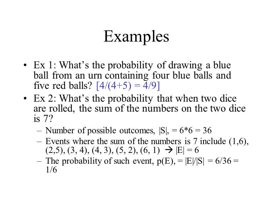Example (a)  (c) = 0.8888 c = 1.22 (b) 1 -  (c) = 0.37  (c) = 0.63 c = 0.332