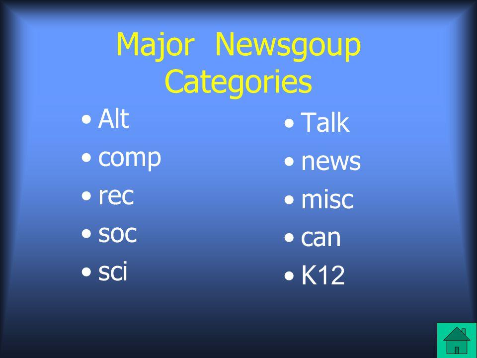 Newsreaders เมื่ออ่านหรือส่งบทความใน newsgroup ต้อง มี software ที่เหมาะสม เรียก software นี้ ว่า newsreader มี newsreader เป็นจำนวน มากที่สามารถนำมาใช้ประโยชน์ได้ บางอย่างก็ ฟรี บางอย่างเป็น shareware และมันจะเกิด ประโยชน์เมื่อมีผู้บอกต่อๆกัน เมื่อติดต่อกับผู้ให้ บริการทางอินเตอร์เน็ต หรือ ISP newsreader program สามารถร้องขอรายการ newsgroup ทั้งหมดที่มีประโยชน์ต่อซึ่งหามาได้จาก ISP อาจจะใช้เวลา 2-3 นาที ขึ้นอยู่กับจำนวน newsgroup ที่ ISP สามารถนำมาได้ และ ความเร็วในการติดต่อนี่เป็นเพียงเล็กน้อยของ newsgroup ที่มีประโยชน์ที่หามาได้ผ่านทาง ISP