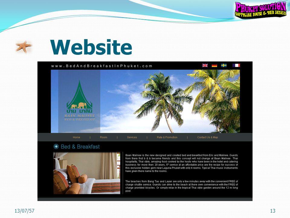 Website 13/07/5713