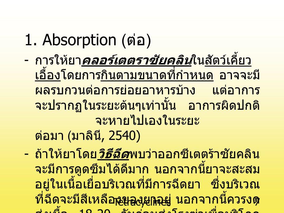 Tetracyclines7 1.