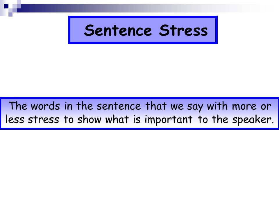 Underline the stressed syllable in each of these words twenty difficult forget monkey remember