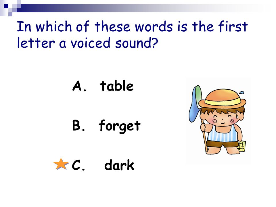 Which of the following ends with a consonant? A. banana B. carrot C. potato