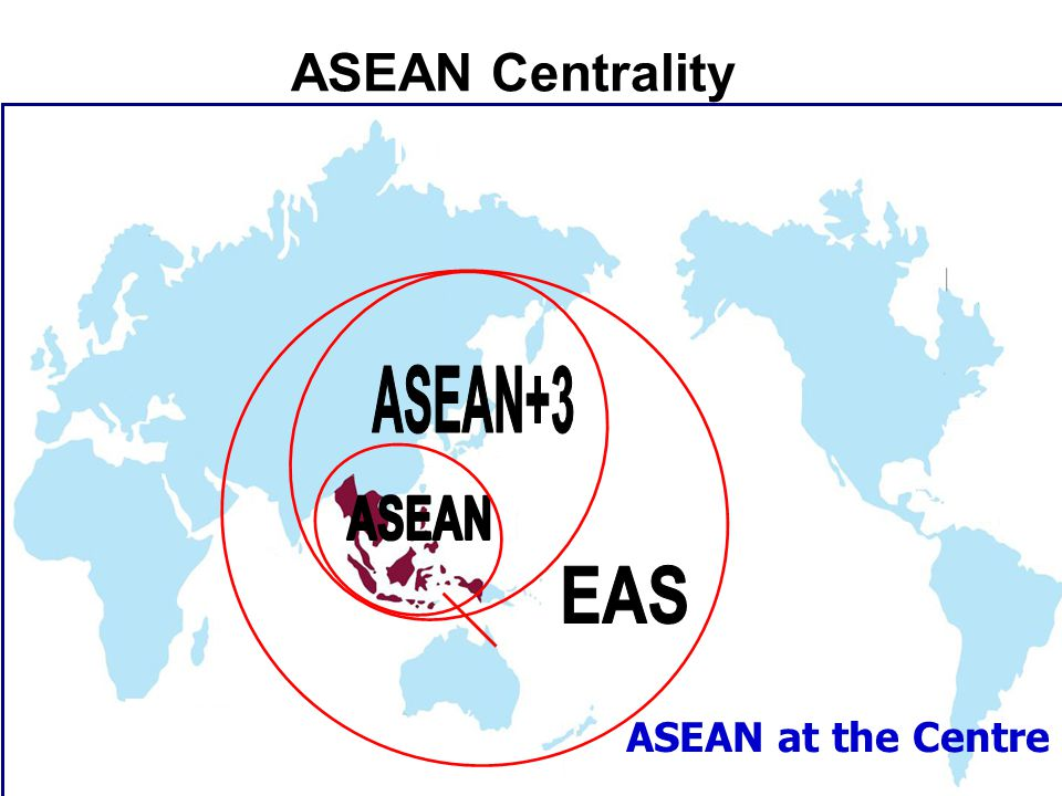 ASEAN at the Centre ASEAN External Relations ASEAN Centrality
