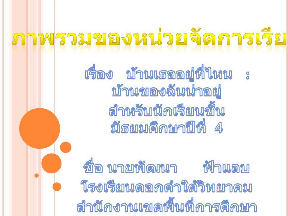 มาตรฐานหลัก : ภาษาต่างประเทศ มฐ.