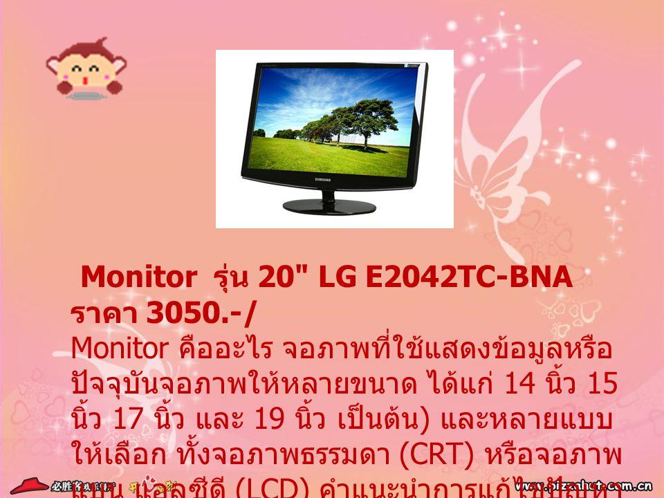 Monitor รุ่น 20