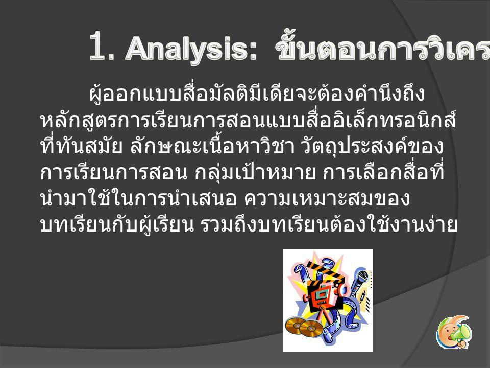 - ทอนความคิด (Elimination of Ideas) - วิเคราะห์งานและแนวความคิด (Task and Concept Analysis) - ออกแบบบทเรียนขั้นแรก (Preliminary Lesson Description) - ประเมินและแก้ไขการออกแบบ (Evaluation and Revision of the Design)