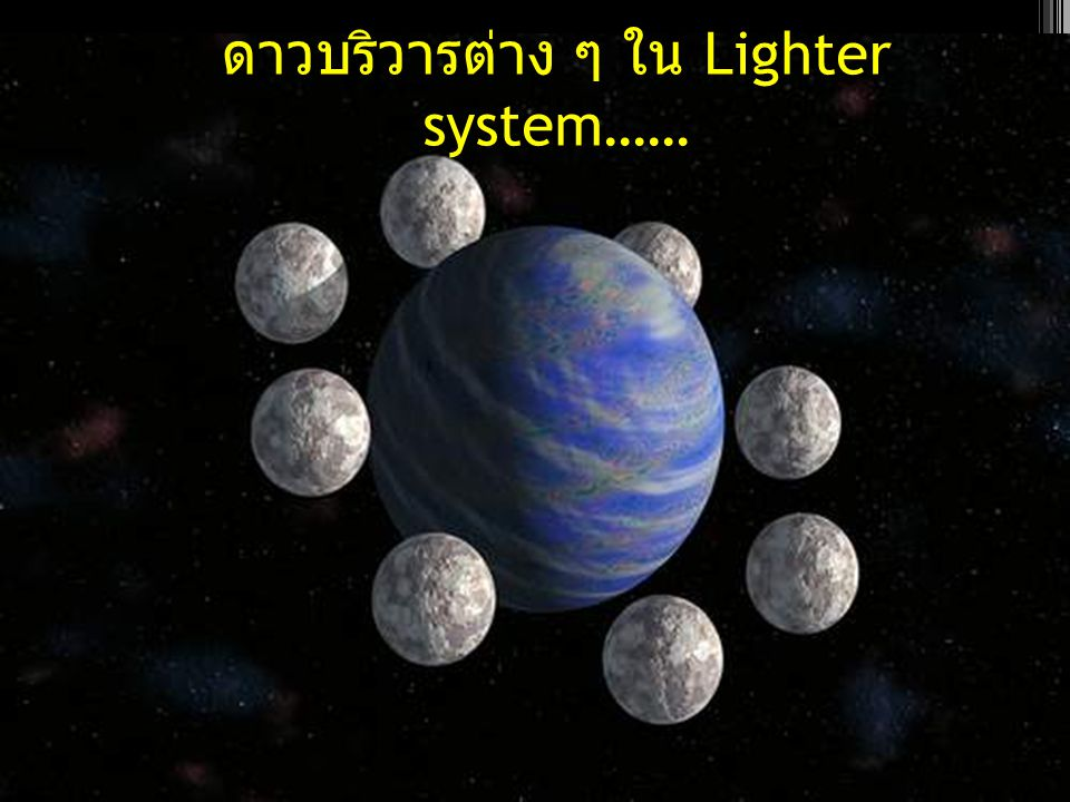 จากรูปภาพจะเห็นได้ว่าดาวเคราะห์ต่าง ๆ จะมีลักษณะที่ไม่ น่าจะมีสิ่งมีชีวิตอยู่เพราะเพิ่งเกิดใหม่ และ ดาวฤกษ์ยังมี พลังงานมหาศาลทำให้สิ่งมีชีวิตต่าง ๆ อยู่ไม่ได้ และต้องมีการ วิวัฒนาการอีกต่อไป...............................................................