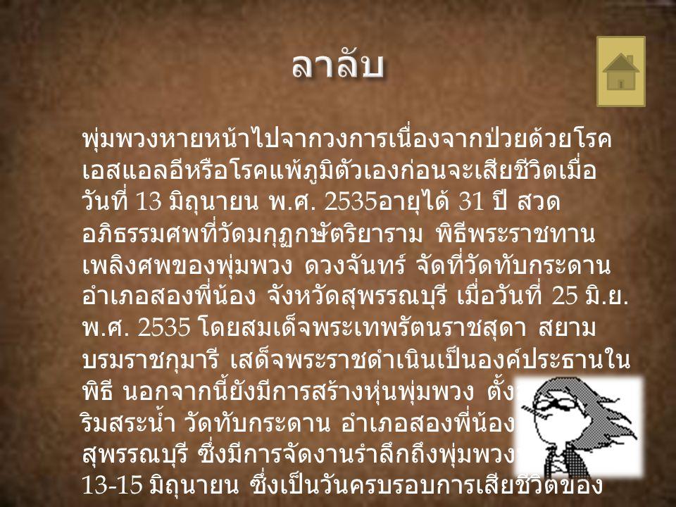 รางวัลเสาอากาศทองคำทองคำ เพลง อกสาวเหนือ สะอื้น รางวัลกึ่งศตวรรษเพลงลูกทุ่งไทย ครั้งที่ 1 เพลง สาว นาสั่งแฟน รางวัลกึ่งศตวรรษเพลงลูกทุ่งไทย ครั้งที่ 2 เพลง สยาม เมืองยิ้ม ยกย่องเชิดชูเกียรติ เป็น ปริยศิลปิน ศิลปินอันเป็นที่รัก ยิ่งของประชาชน