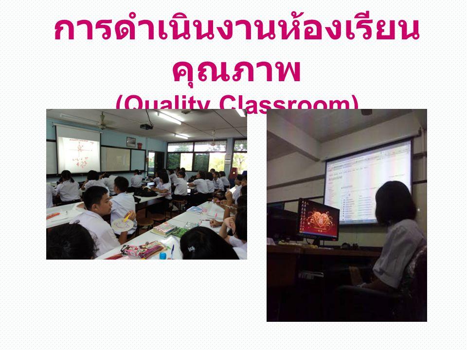 การดำเนินงานห้องเรียน คุณภาพ (Quality Classroom)