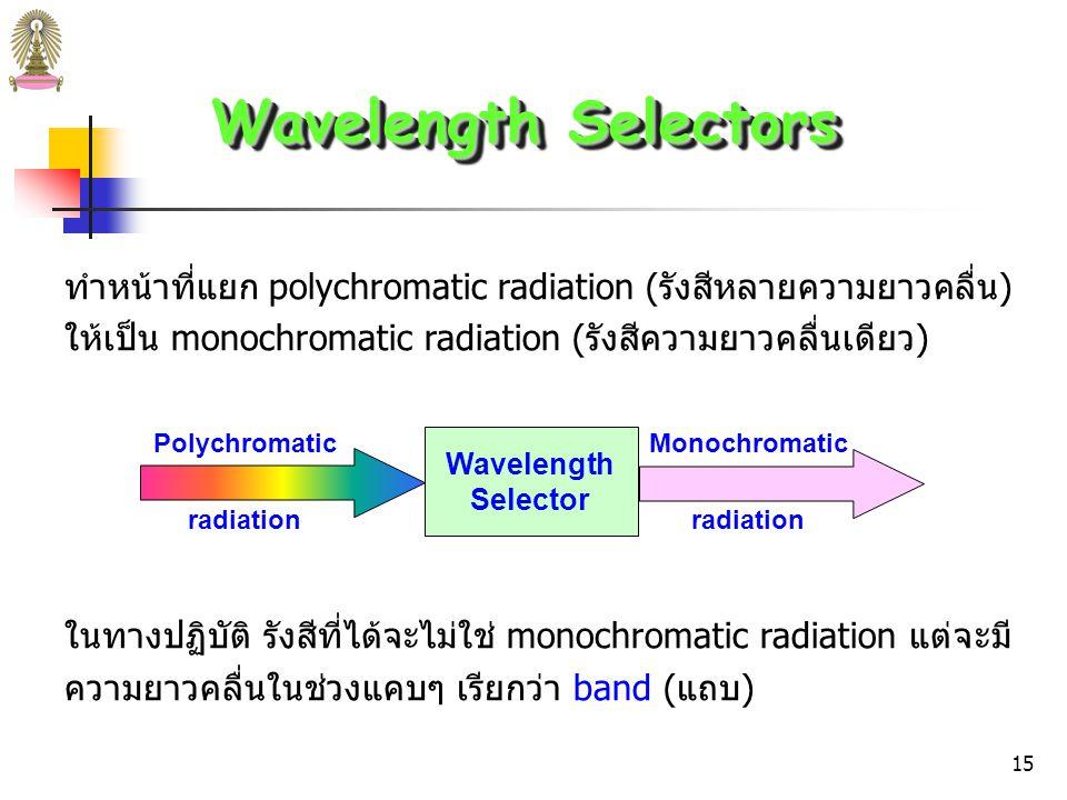 14 แหล่งกำเนิดรังสี (Spectroscopic Sources) แหล่งกำเนิดรังสี (ก) (ข) รูปที่ 3 (ก) tungsten lamp.