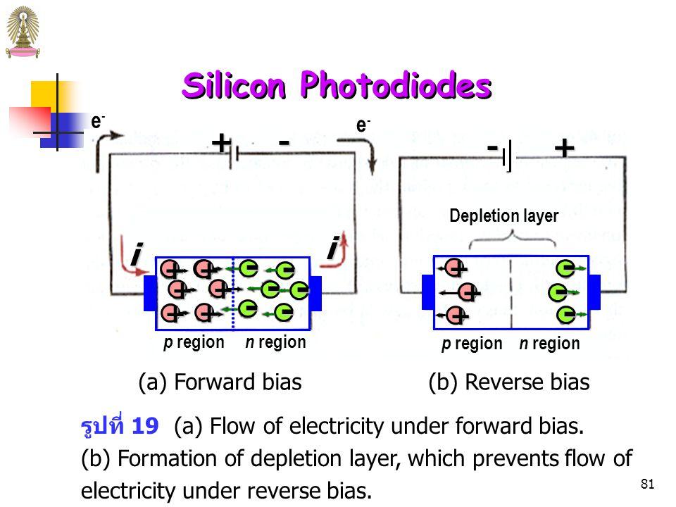 80 รูปที่ 18 Schematic of a silicon diode.