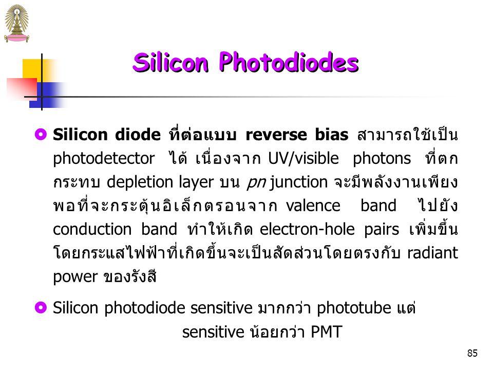 84 รูปที่ 20 Construction of a planar-diffused pn junction photodiode.