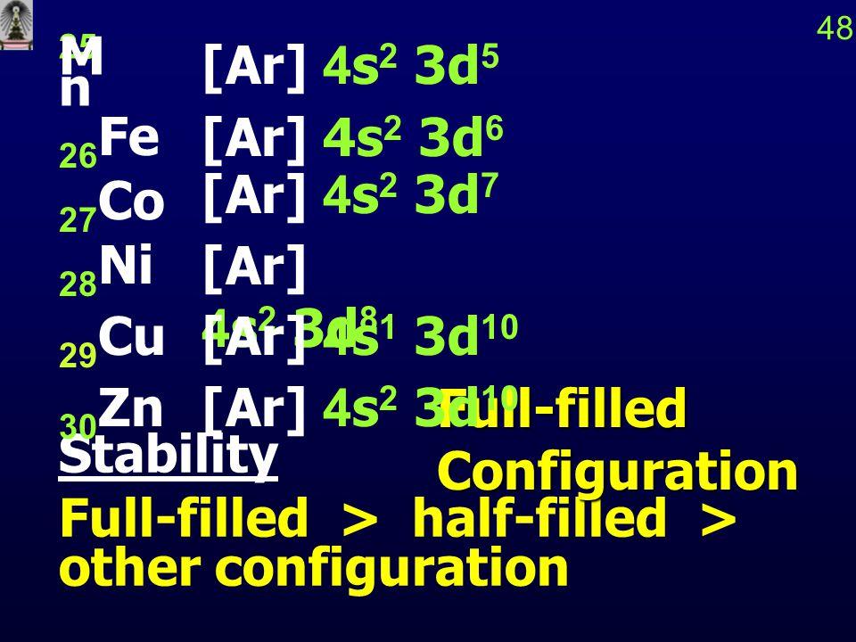 49แก่นกลางของอะตอมและเวเลนซ์อิเล็กตรอน เมื่ออะตอมเกิดปฏิกิริยาเคมี e - และ ออร์บิทัลที่มีระดับ พลังงานสูงสุดเท่านั้นที่จะมีบทบาท เนื่องจากต้องการ พลังงานน้อยที่สุดสำหรับการ เปลี่ยนแปลง e - ในระดับพลังงานสูงสุดเรียกว่า เวเลนซ์อิเล็กตรอน และเรียกออร์บิทัลว่า เวเลนซ์ออร์บิทัล e - และออร์บิทัลที่เหลือ เรียกว่า แก่น กลางของอะตอม ซึ่งมีโครงสร้างสมนัยกับแก๊สเฉื่อย