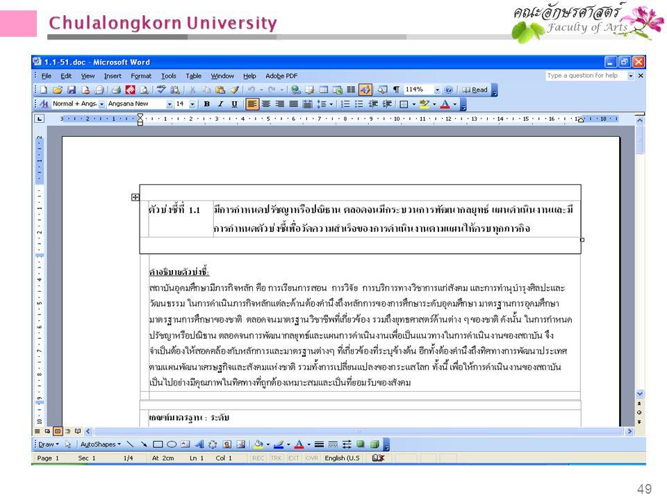 Chulalongkorn University 49