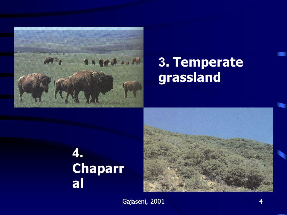 Gajaseni, 20015 5. Savanna 6. Desert