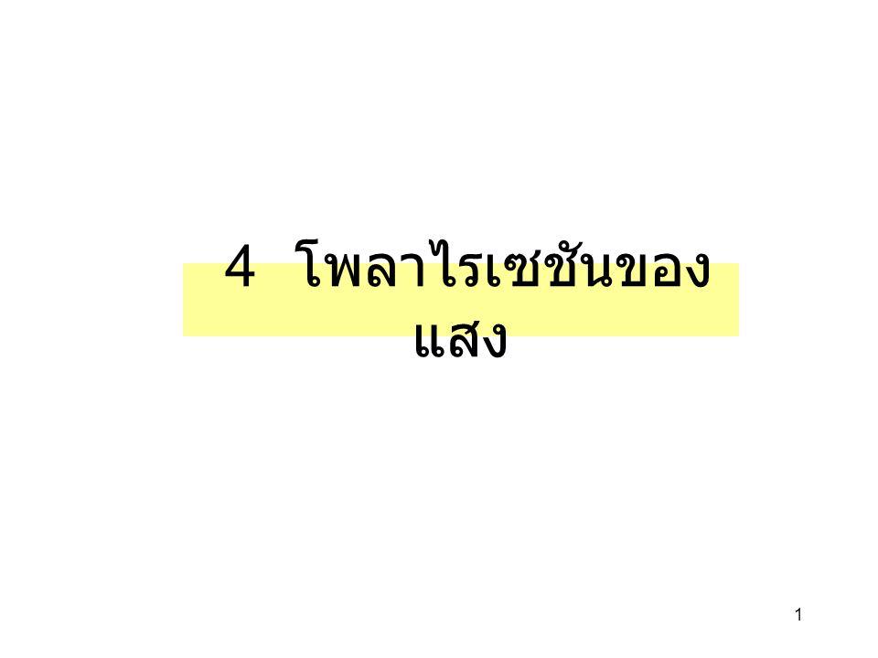 32 สมการเฟรสเนล + กฏ ของสเนล E   PI E    PI