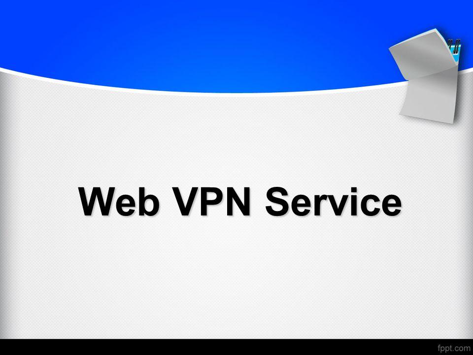 Web VPN Service